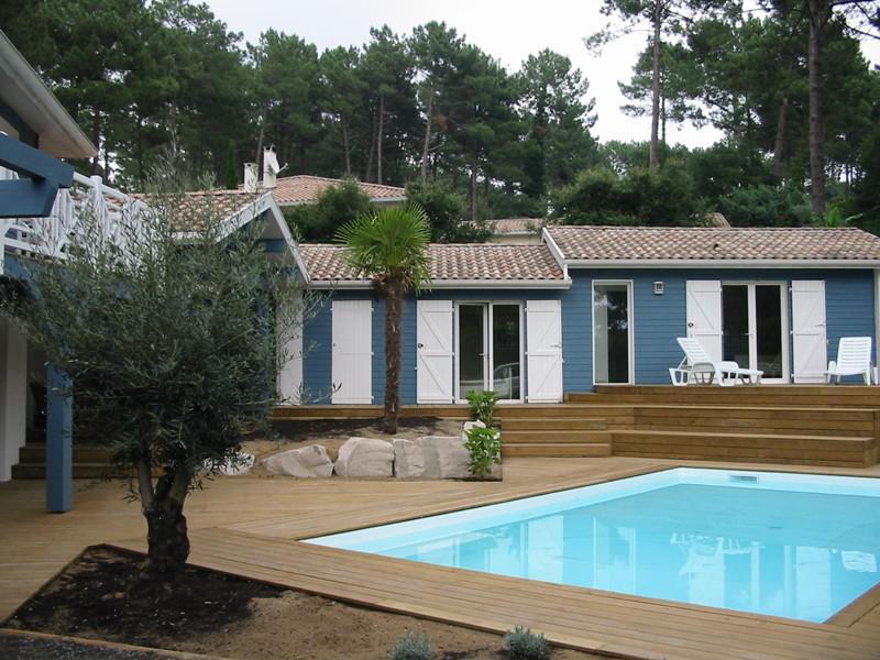 location de vacances en maison avec piscine 10 personnes seignosse 40 - Location Maison 10 Personnes Avec Piscine